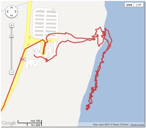 קו החוף של ים המלח