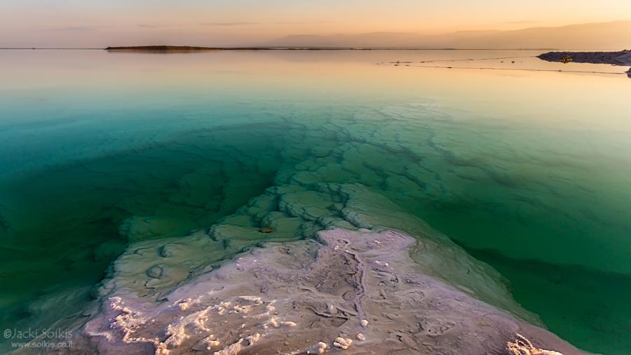 תמונת ים המלח אשר פורסמה במגזין הקנדי DIVER