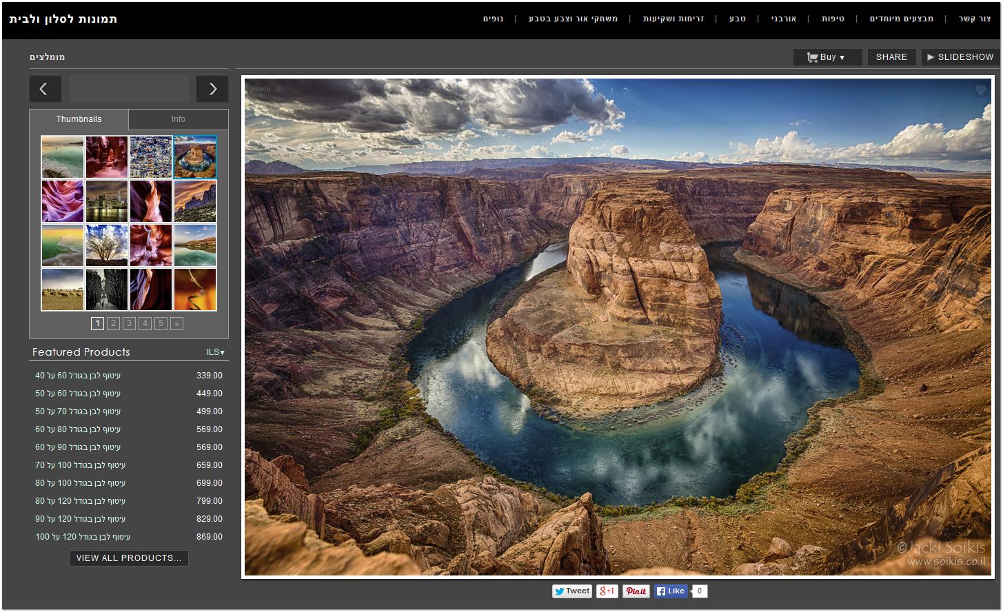אתר למכירת תמונות לסלון