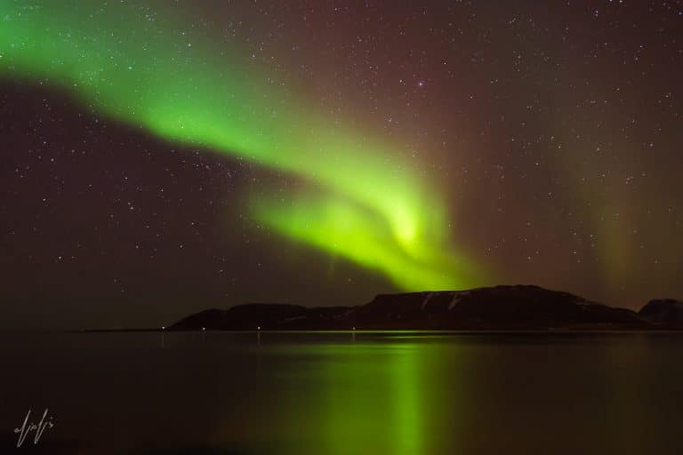 הזוהר הצפוני איסלנד