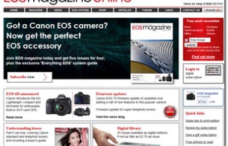 EOS Magazine online